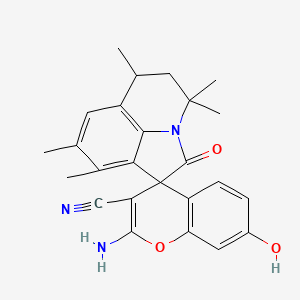 Chemical structure for BAS 08978488