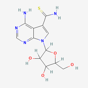 Chemical structure for thiosangivamycin