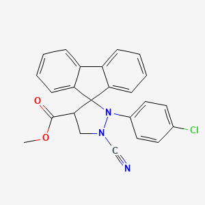 Chemical structure for AC1MTYNF