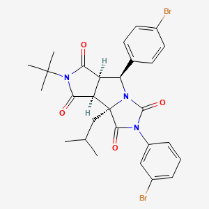 Chemical structure for MLS001075058