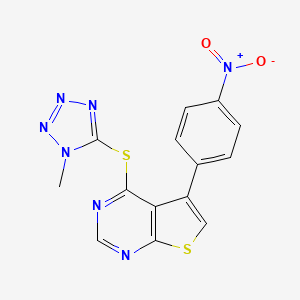 Chemical structure for AGN-PC-071IBH
