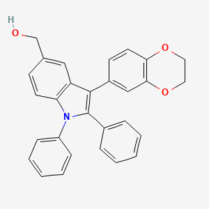 Chemical structure for AGN-PC-071IET
