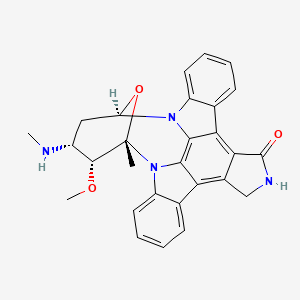 Chemical structure for Staurosporine