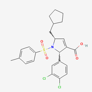 Chemical structure for MLS002554564