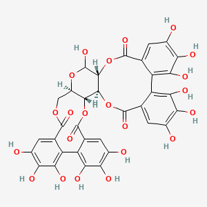 Chemical structure for Pedunculagin