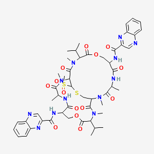 Chemical structure for AGN-PC-0754HA