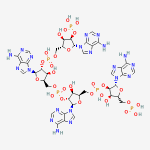 Chemical structure for CHEMBL434553