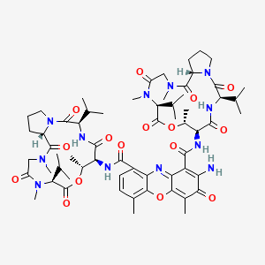Chemical structure for Dactinomycin