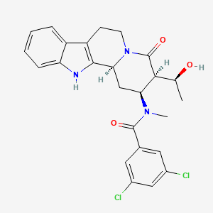 Chemical structure for MLS003269133