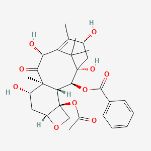 Chemical structure for 13-epi-10-DAB