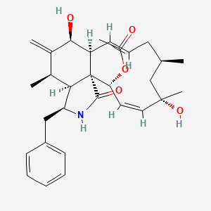 Chemical structure for CCG-35589