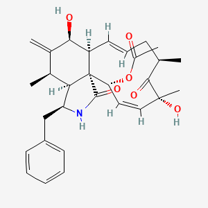 Chemical structure for CCG-36072
