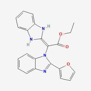 Chemical structure for MLS003512299