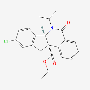 Chemical structure for MLS003591321