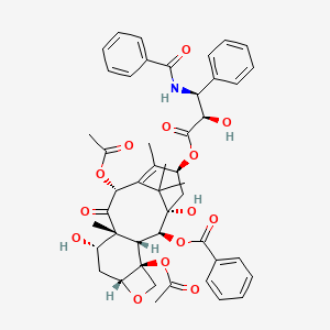 Chemical structure for Paclitaxel