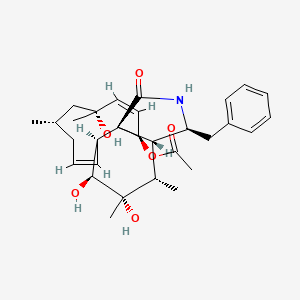 Chemical structure for NCGC00247575-01