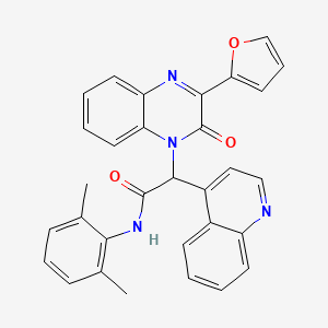 Chemical structure for AGN-PC-09S9DK