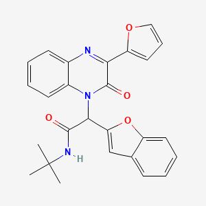Chemical structure for MLS003674212