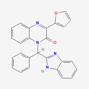 Chemical structure for AGN-PC-09S9MG