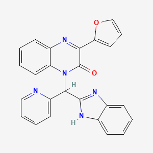 Chemical structure for AGN-PC-09S9MH
