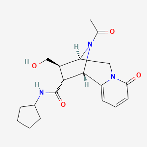 Chemical structure for BRD-K12981857-001-01-4