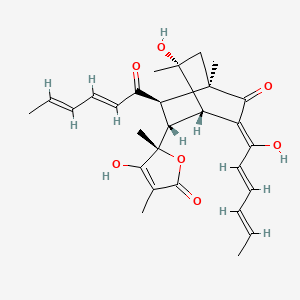Chemical structure for CID 54680510