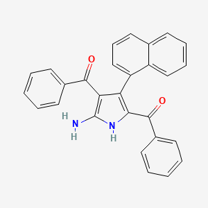Chemical structure for AGN-PC-0BEDII