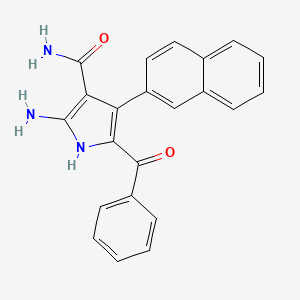 Chemical structure for AGN-PC-0BEDJ2