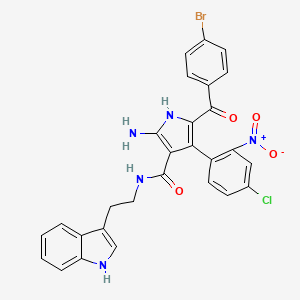Chemical structure for AGN-PC-0BEDJN