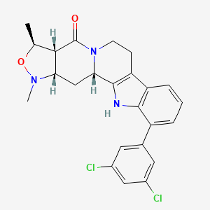 Chemical structure for MLS003864608