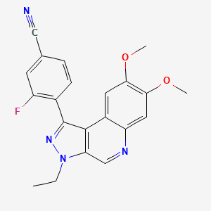 Chemical structure for AGN-PC-0BEG8H
