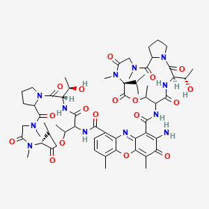 Chemical structure for CHEMBL1790142