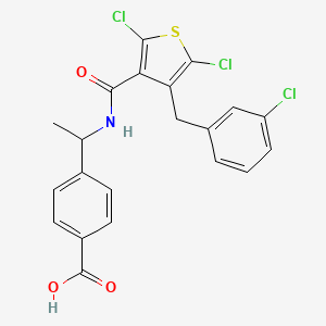 Chemical structure for AGN-PC-04UJL9