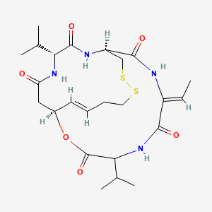 Chemical structure for Romidepsin [USAN]