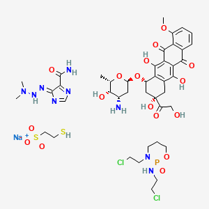 Chemical structure for MAID protocol