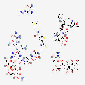 Chemical structure for ABVD protocol