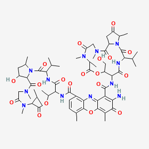Chemical structure for actinomycin Z1