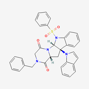 Chemical structure for MLS004256842