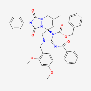 Chemical structure for MLS004256925