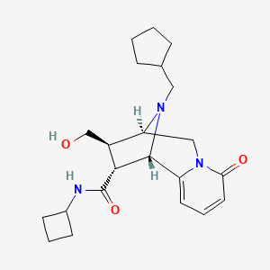Chemical structure for BRD-K91756474-001-01-7