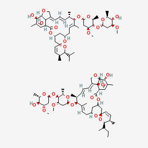 Chemical structure for abamectin
