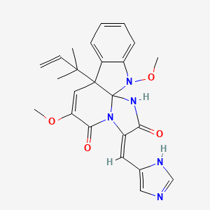 Chemical structure for oxaline
