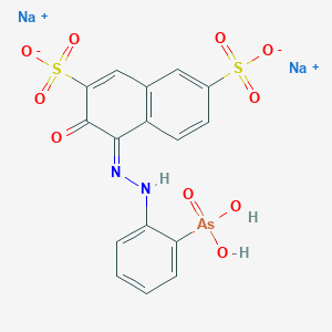 Chemical structure for thoron (reagent)