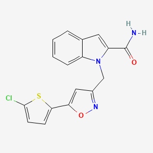 Chemical structure for AGN-PC-0HHYI1