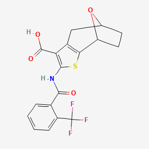 Chemical structure for AGN-PC-0IBPGU