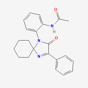 Chemical structure for AGN-PC-0ICHAL