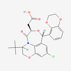 Chemical structure for SureCN7957422