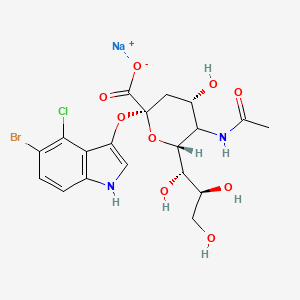 Chemical structure for X-NeuNAc|160369-85-7