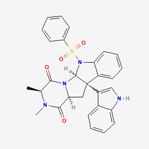 Chemical structure for MLS004682179