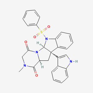 Chemical structure for MLS004682180